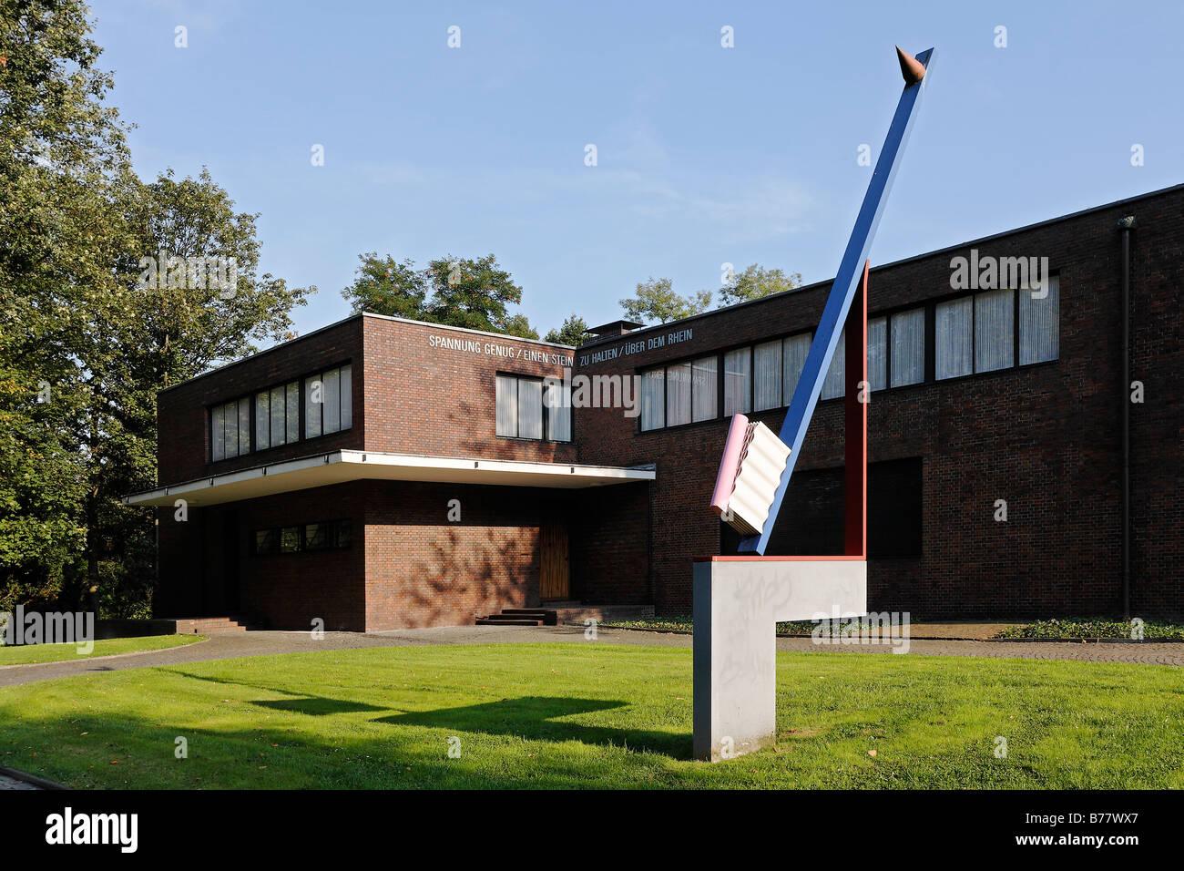 Haus Lange Museum Villa Des Architekten Mies Van Der Rohe