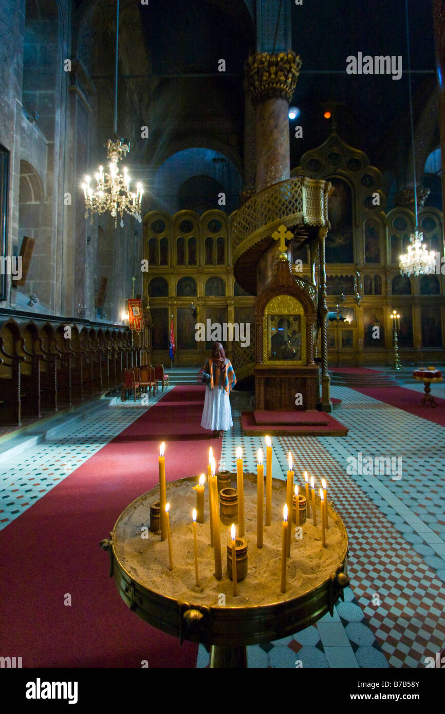 old orthodox church in sarajevo stockfotos old orthodox. Black Bedroom Furniture Sets. Home Design Ideas