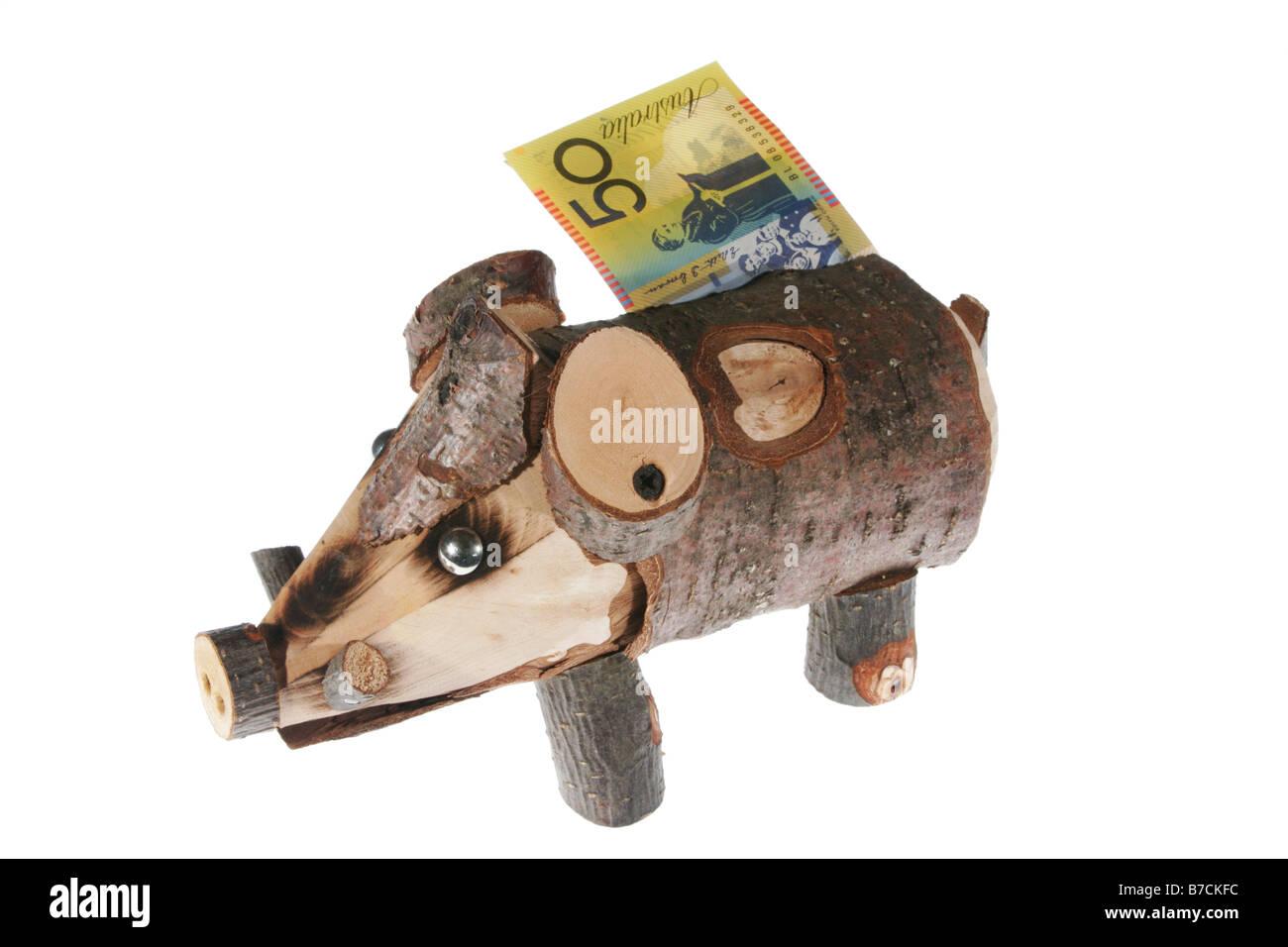 Sparschwein Stockbild