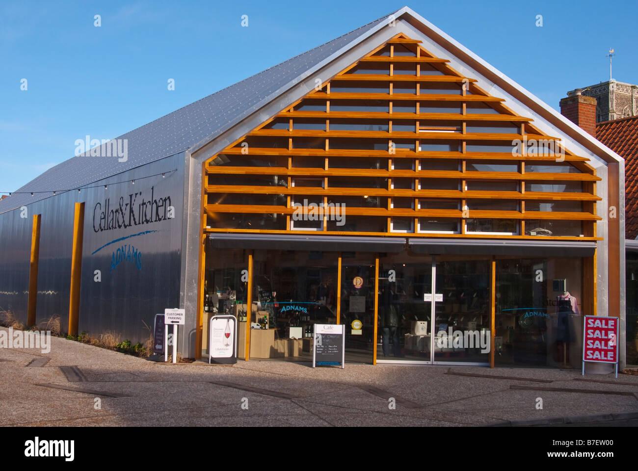 Der neue Adnams Keller & Küche Shop verkaufen, Biere, Weine, etc ...