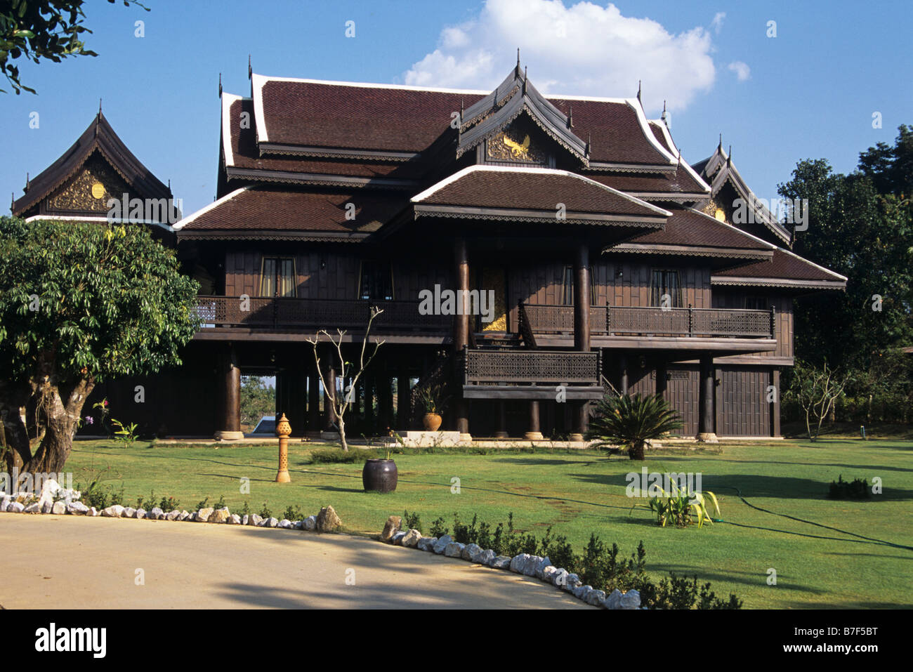 Timber Style Home Stockfotos & Timber Style Home Bilder - Alamy