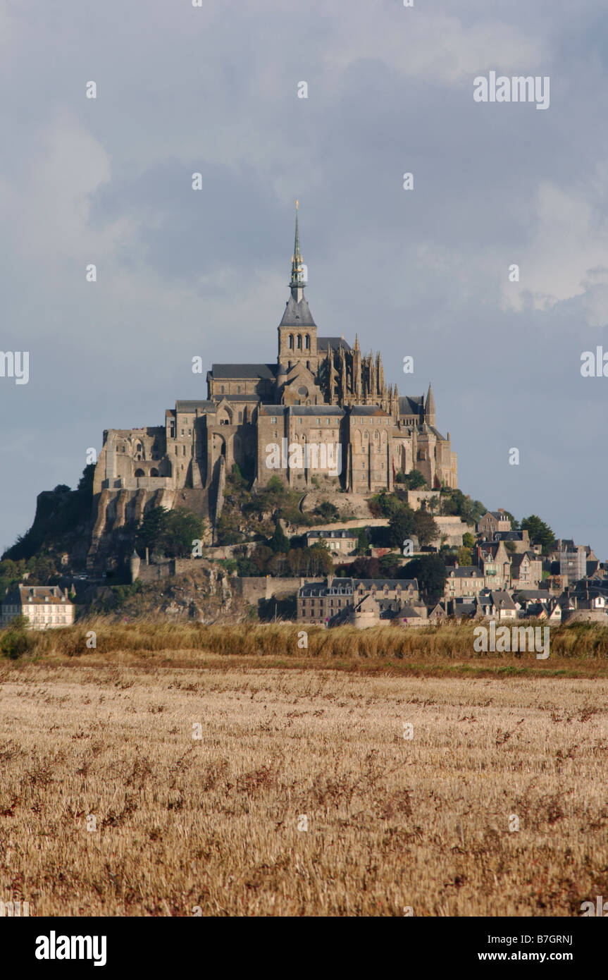 le mont st michel in der manche 50 departement