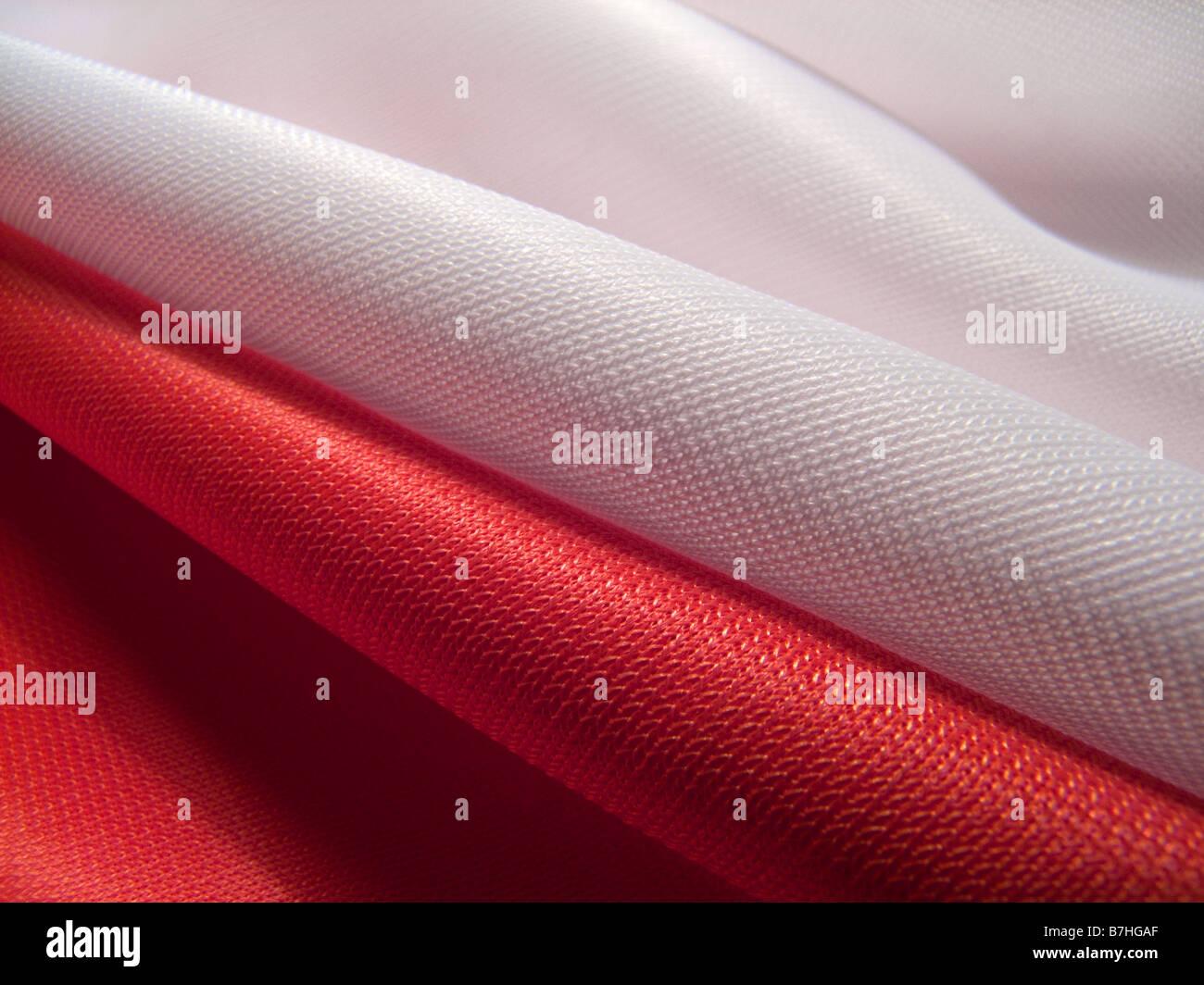 Flagge von Polen Stockbild