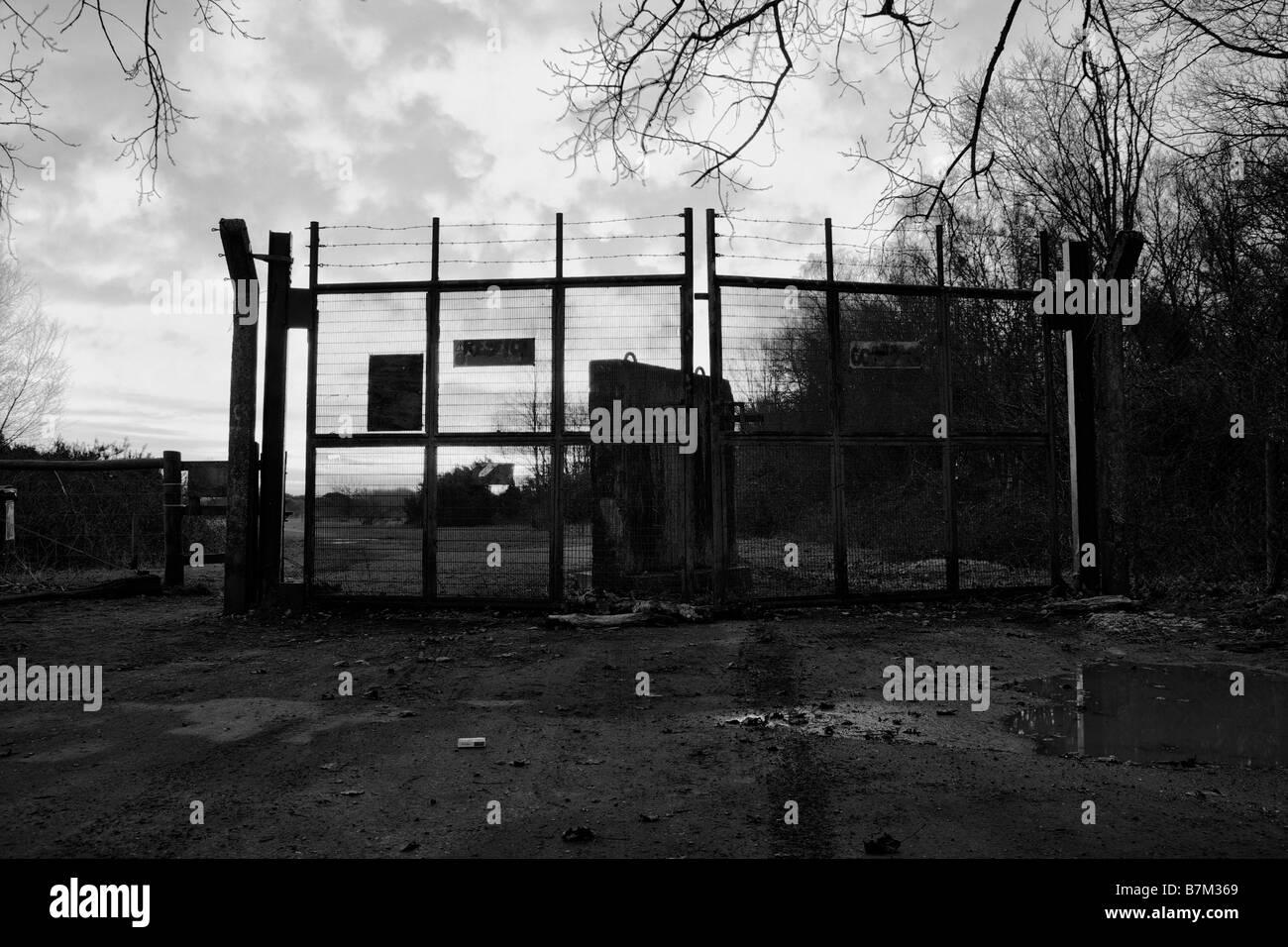 Burys Bank Gate Stockbild