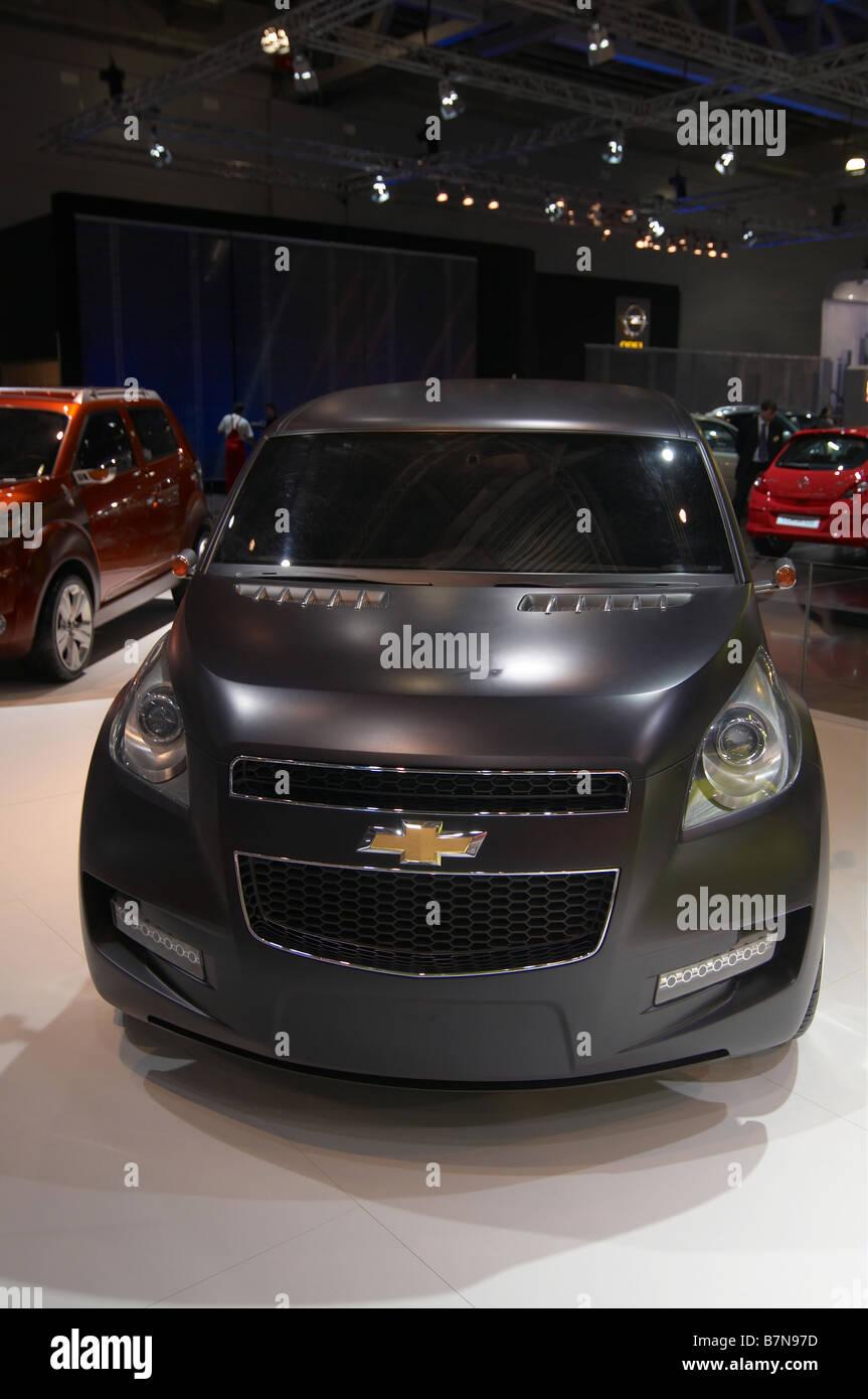 "Neue Konzeptfahrzeug Chevrolet Groove. Moscow International Automobile Salon ""2008 Stockfoto"