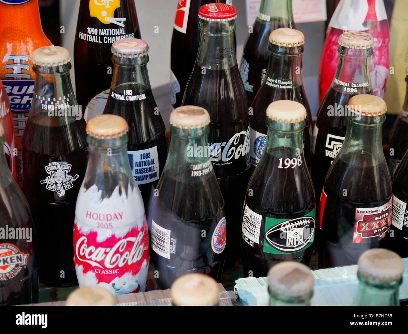 Datierung alter 7up-Flaschen