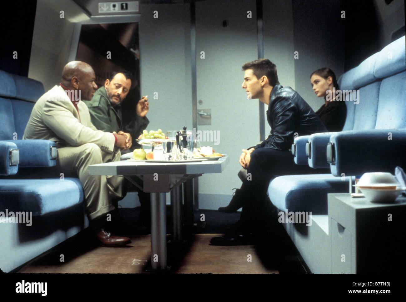 Mission: Impossible Jahr: 1996 USA Tom Cruise, Emmanuelle Béart, Jean Reno, Ving Rhames Regie: Brian De Palma Stockbild