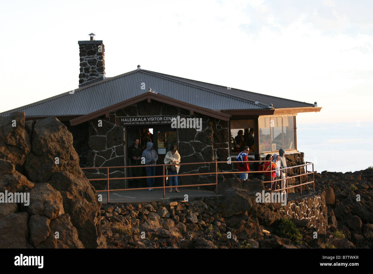 volcano house hawaii stockfotos volcano house hawaii bilder alamy. Black Bedroom Furniture Sets. Home Design Ideas