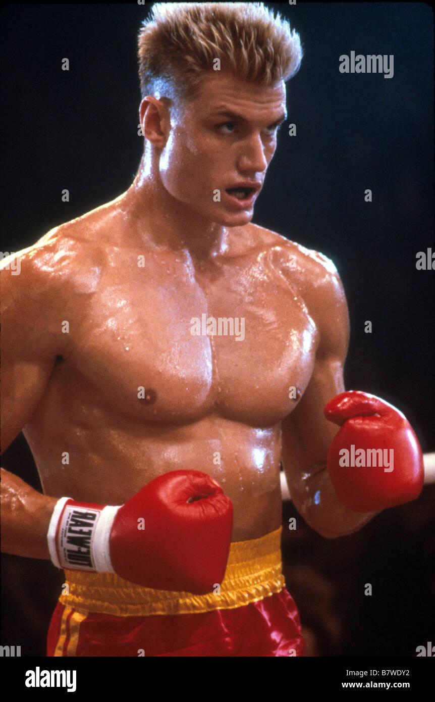 Rocky 4 Jahr: 1985 USA Dolph Lundgren Regie: Sylvester Stallone  Stockfotografie - Alamy