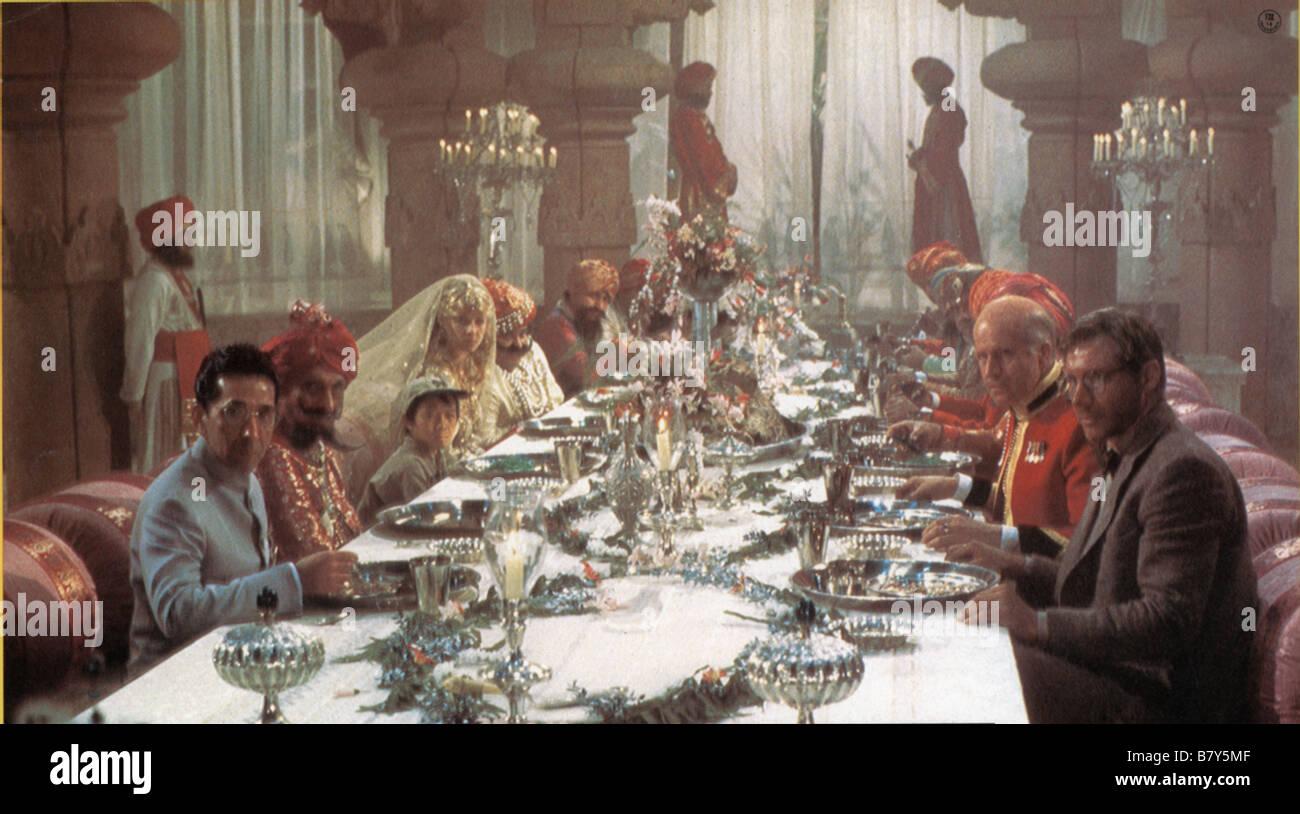 Indiana Jones und der Tempel des Todes Jahr: 1984 Harrison Ford, Jonathan Ke Quan, Kate Capshaw, Roshan Seth Regie: Stockbild