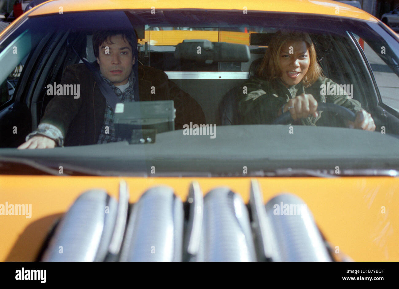 Taxi Jahr: 2004 USA Regie: Tim Story Jimmy Fallon, Queen Latifah Stockbild