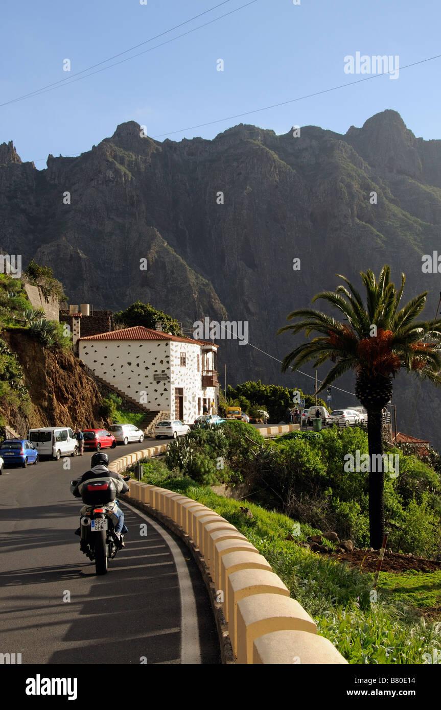 Die kleinen Bergdorf Masca des Teno-Massivs Teneriffa Kanarische Inseln Stockbild