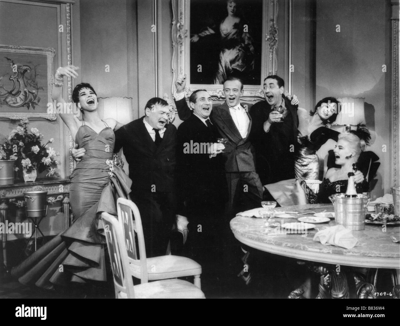 Seidenstrümpfe (1957) usa Fred Astaire Regie: Rouben Mamoulian Stockbild