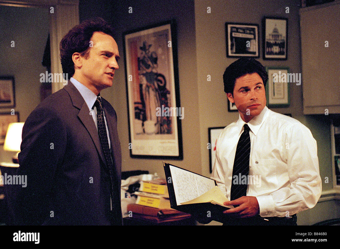 The West Wing Tv Serie 1999 2006 Usa Bradley Whitford Rob Lowe