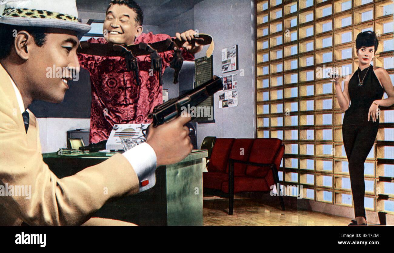 Chasseur Despions Hyappatsu Hyakuchu 1965 Japan Akira Takarada
