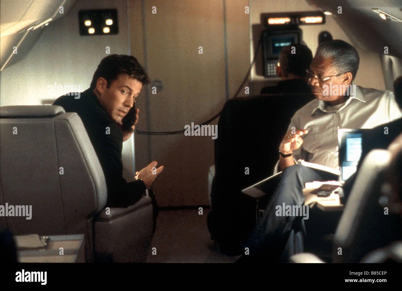 Die Summe aller Ängste Jahr: 2002-USA Morgan Freeman, Ben Affleck Regie: Phil Alden Robinson Stockbild