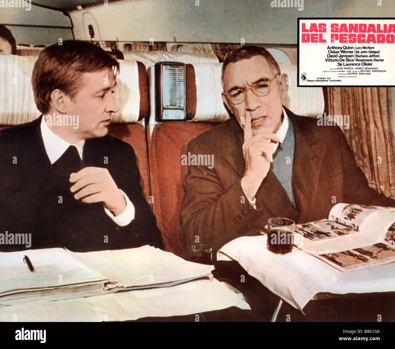 Die Schuhe des Fischers/Les souliers de Saint Pierre Année : 1968 - USA Anthony Quinn Regie: Michael Anderson Stockbild