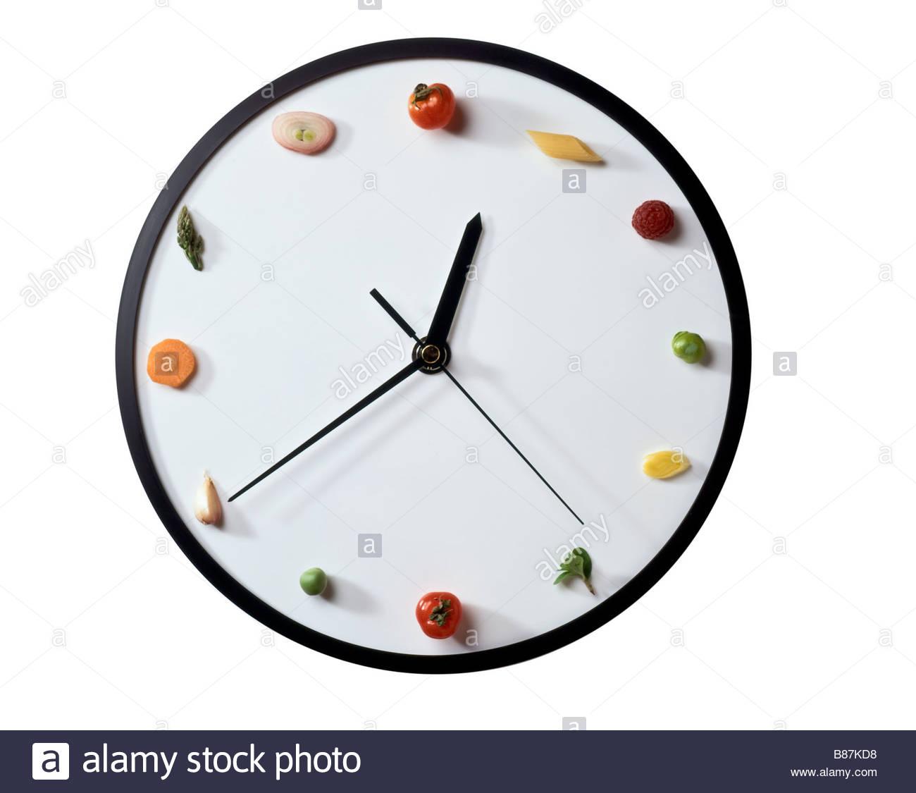symbolische Uhr Stockbild
