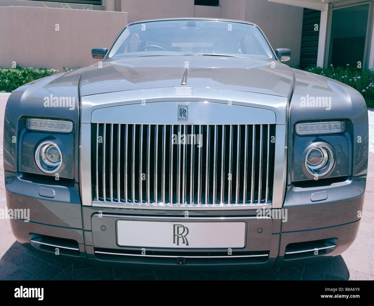 Rolls Royce Auto in Kapstadt in Südafrika in Afrika südlich der Sahara. Reichtum reiche Reiche leben Lebensstil Stockbild