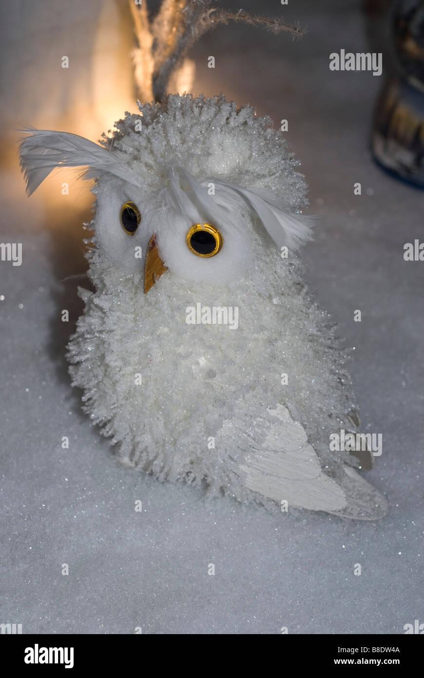 Eule Weihnachten Dekoration Stockfoto Bild 22432714 Alamy