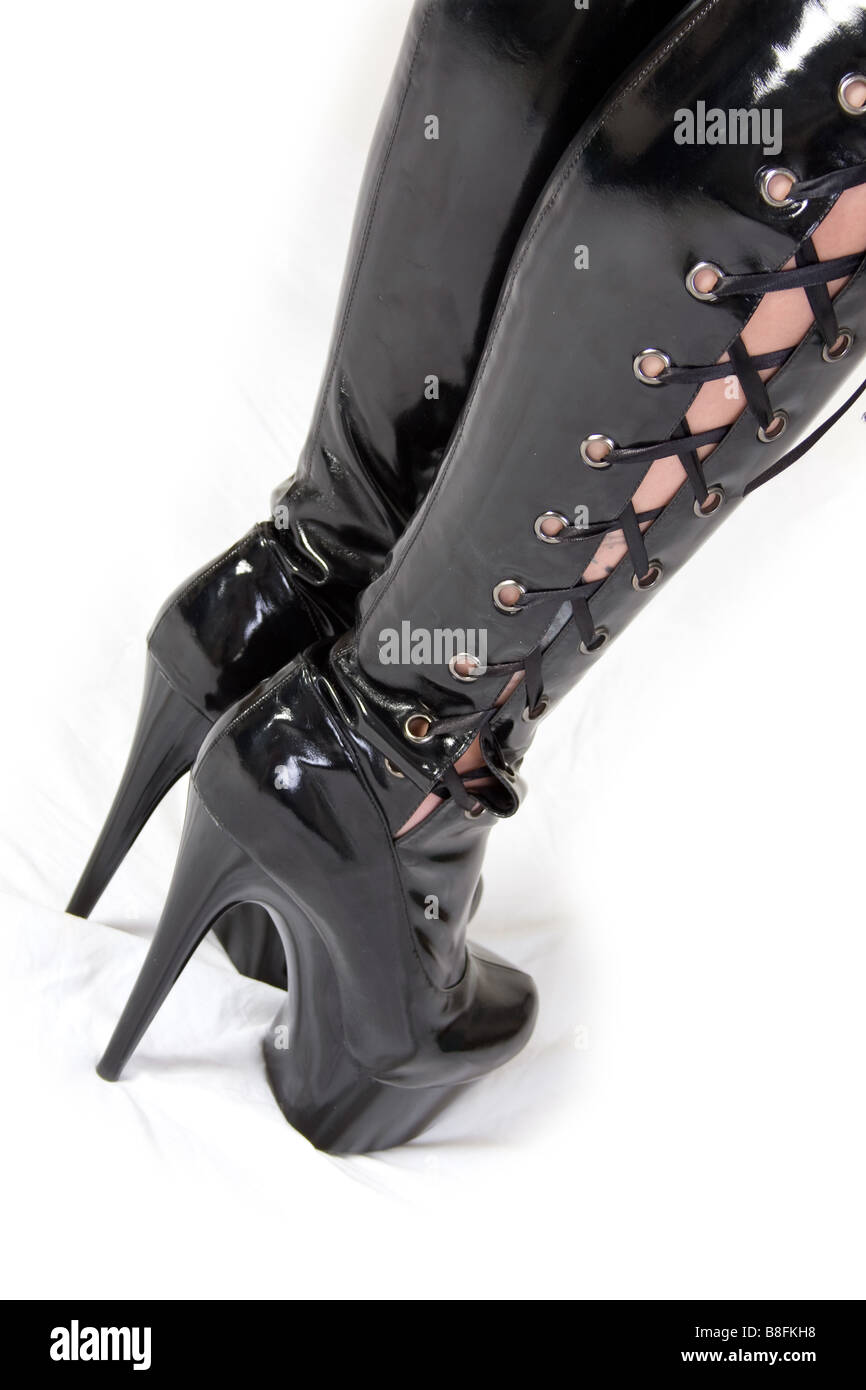 Latex Stiefel