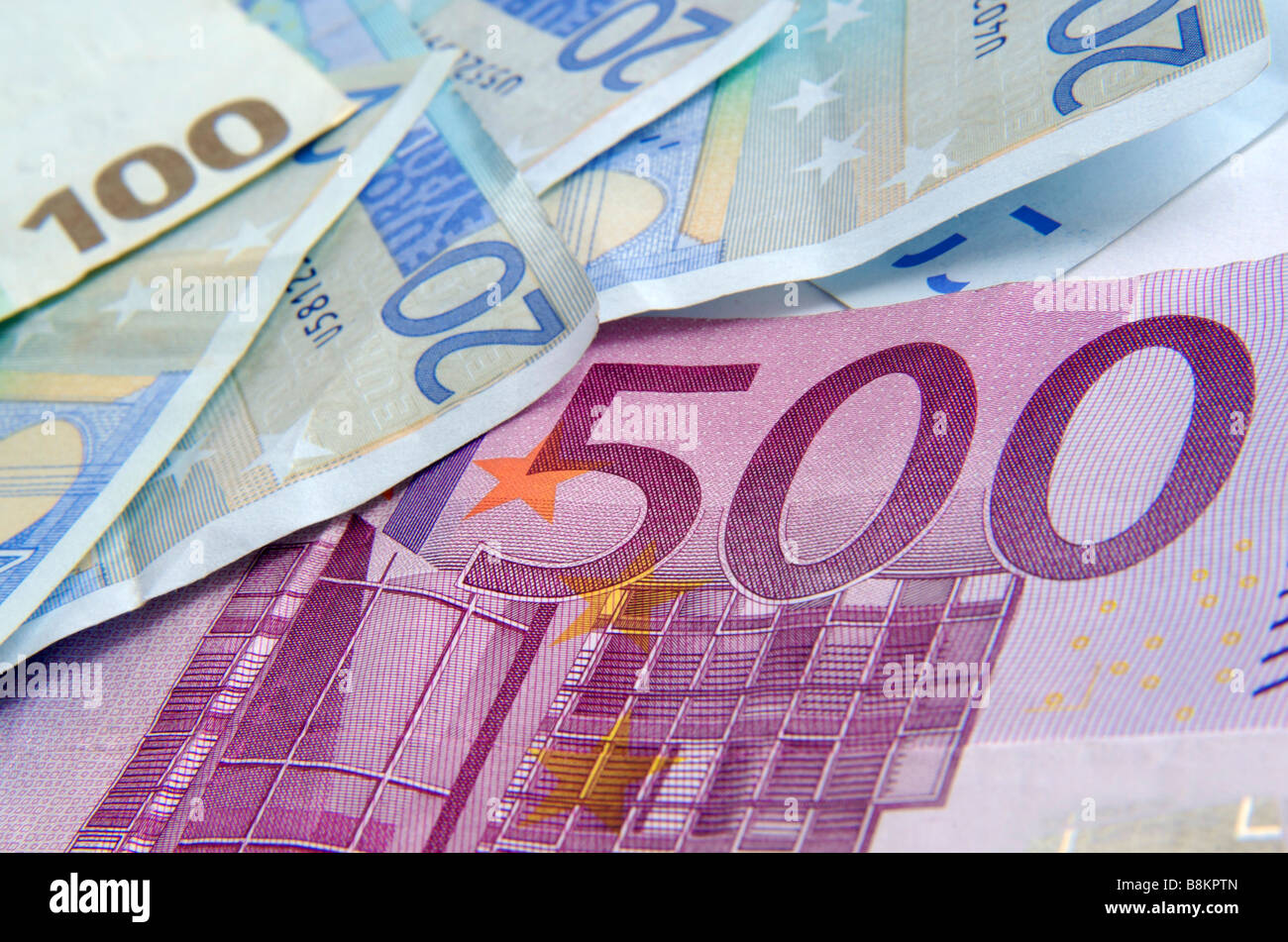 euro geldscheine 500 euro schein stockfoto bild 22562645 alamy. Black Bedroom Furniture Sets. Home Design Ideas