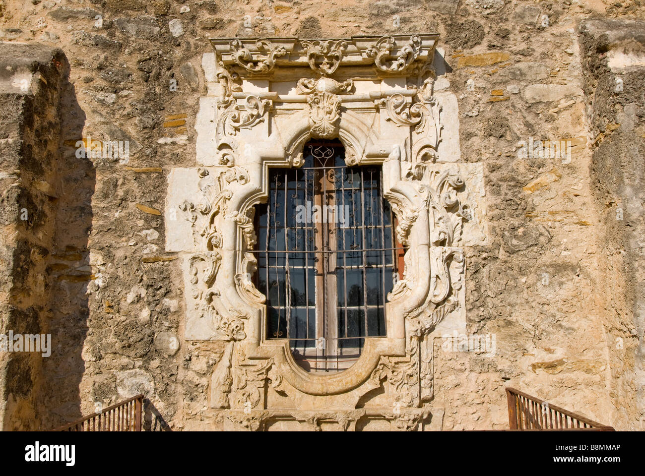 Rosette Mission San Jose San Antonio Texas tx Missionen Nationalpark ...