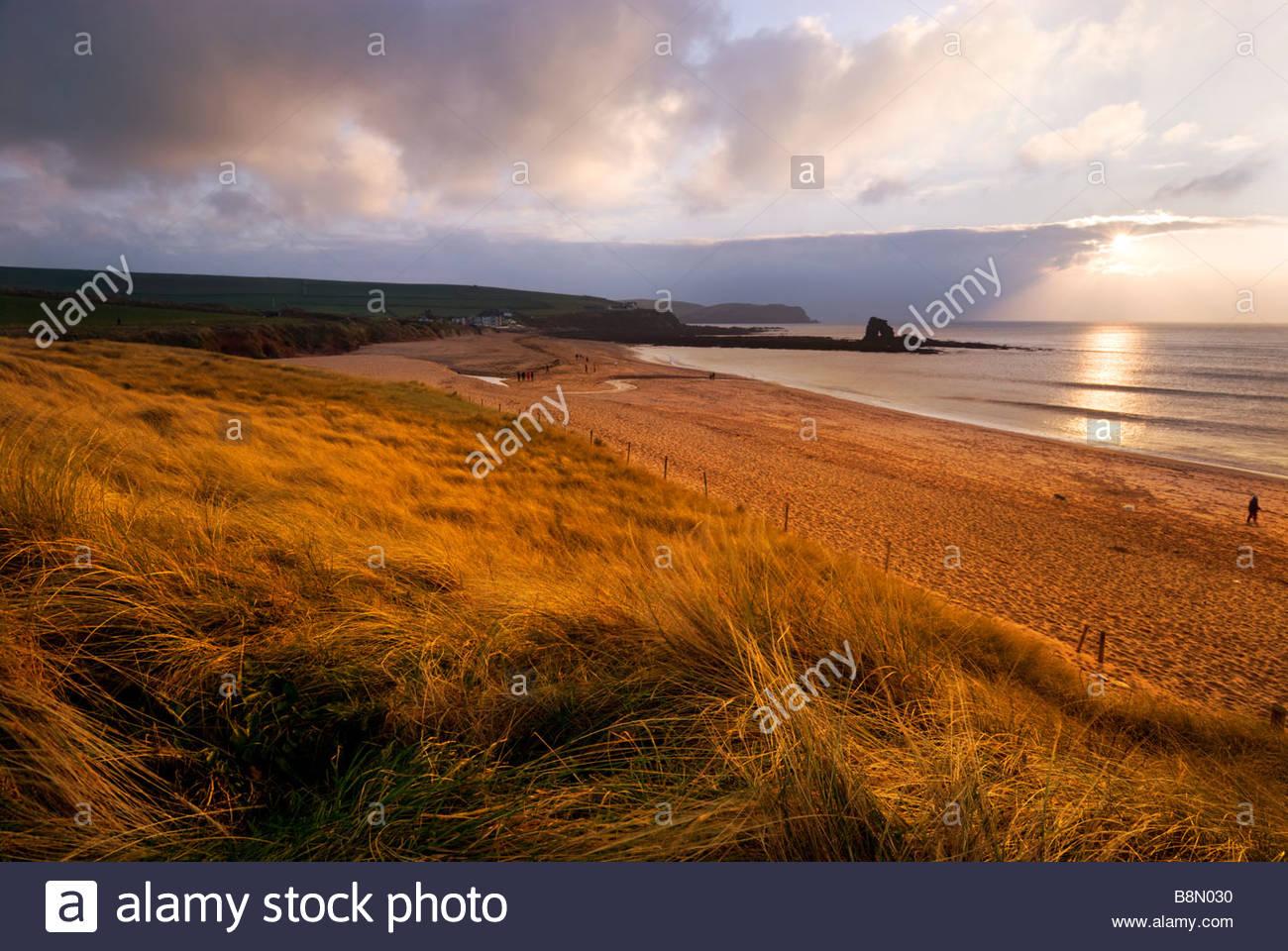 Thurlestone Beach, South Devon, England, UK. Stockbild