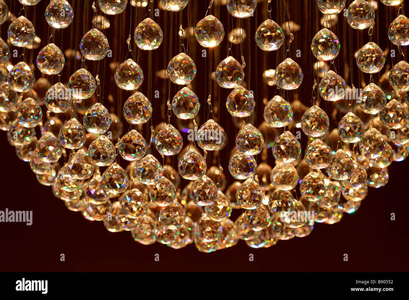 Kronleuchter Echt Kristall ~ Decke kronleuchter kristall glaskugeln licht leuchten beleuchtung