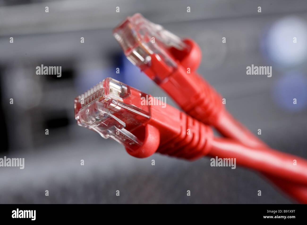 Patchkabel, Netzwerk, Kommunikation, Verbindung, Draht, twisted ...
