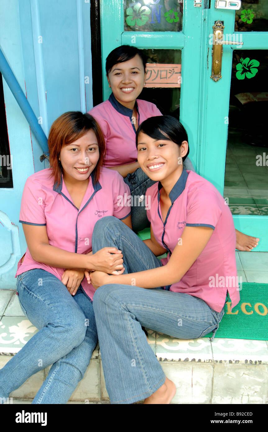 Kuta Bali Mädchen