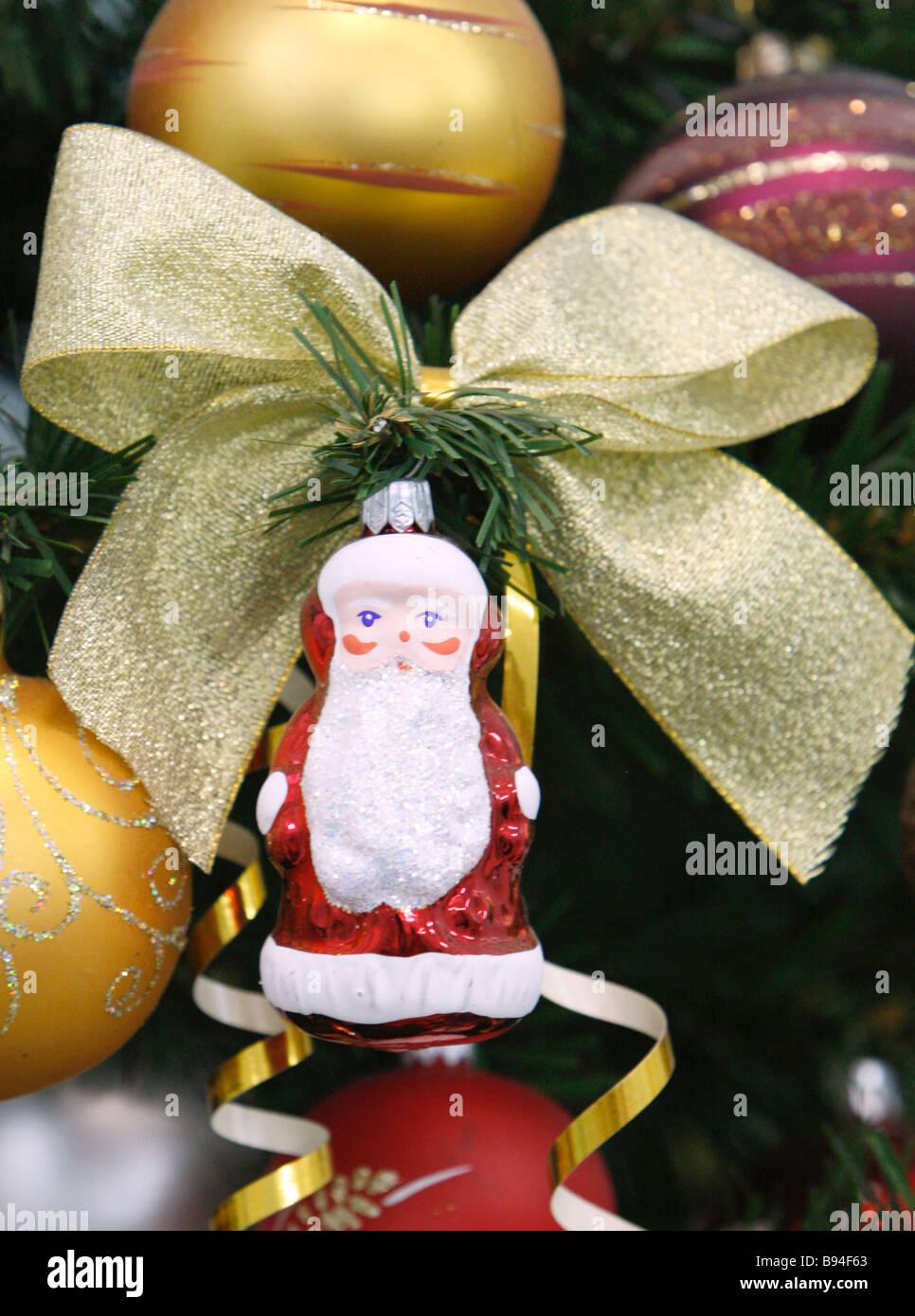 Ausgabe von Yolochka Anlage zur Produktion von Christmas Tree ornaments der Stadt Vysokovsk Stockbild