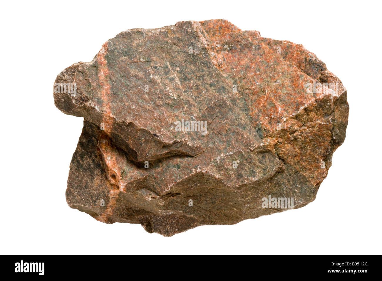 Fels, Ausschnitt. Stockbild