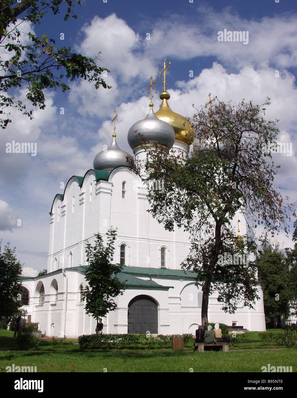 Kathedrale unserer Dame von Smolensk 1524 1525 Stockbild