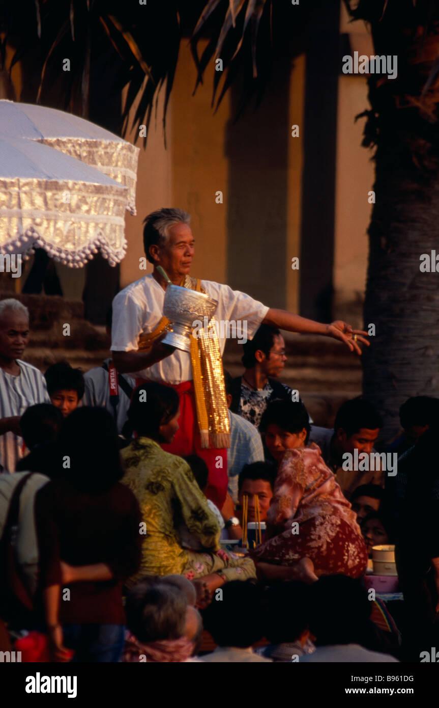 Kambodscha Siem Reap Provinz Angkor Wat Tempel Schamanen bei ...