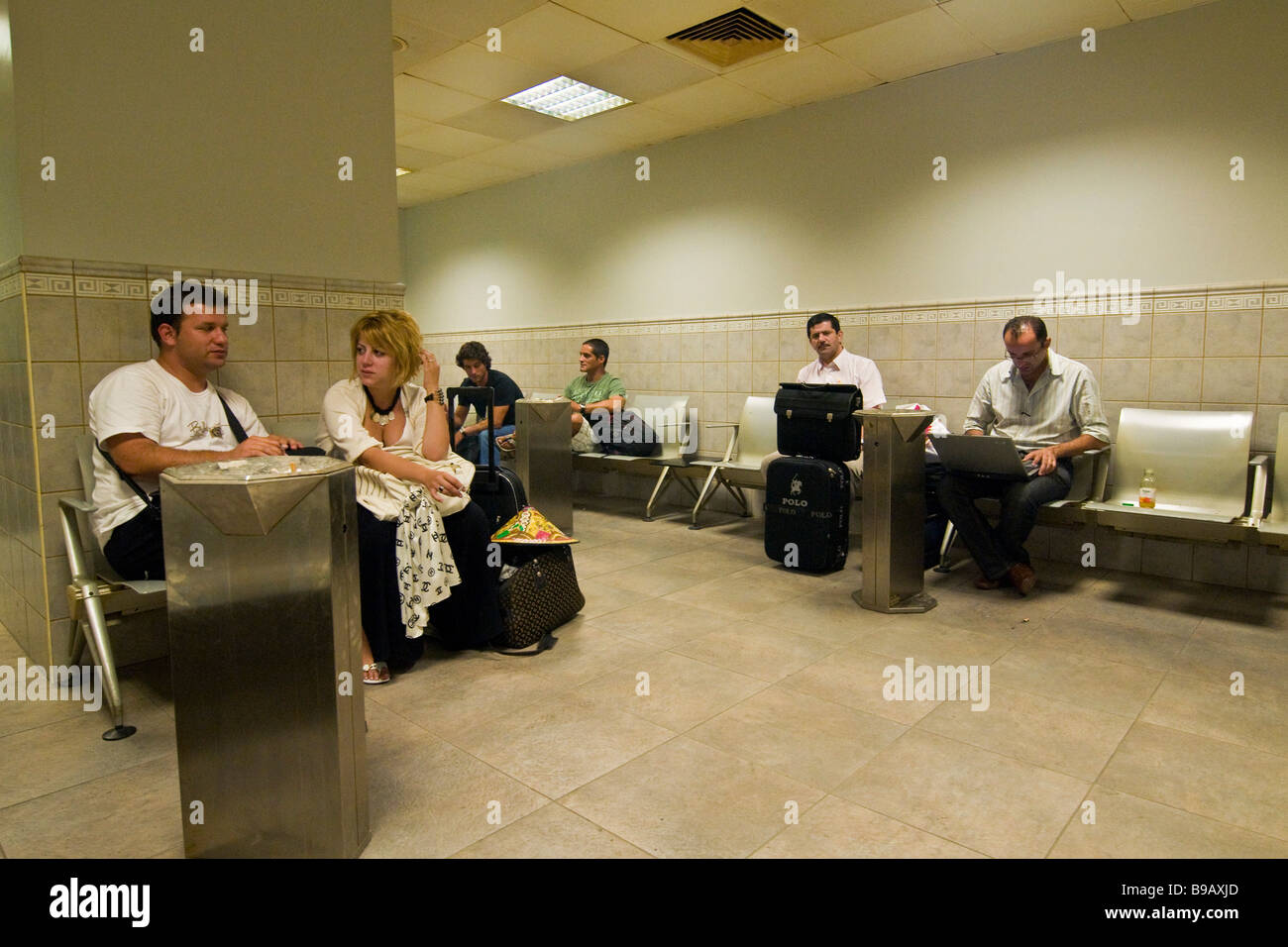 Flughafen Doha Stockfoto