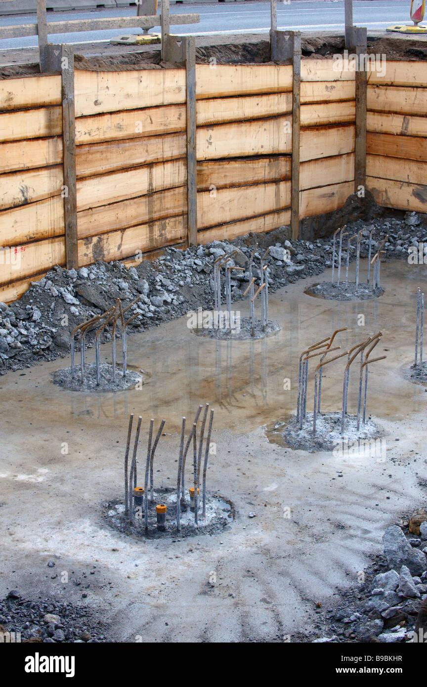 Concrete Foundation Stockfotos & Concrete Foundation Bilder - Alamy