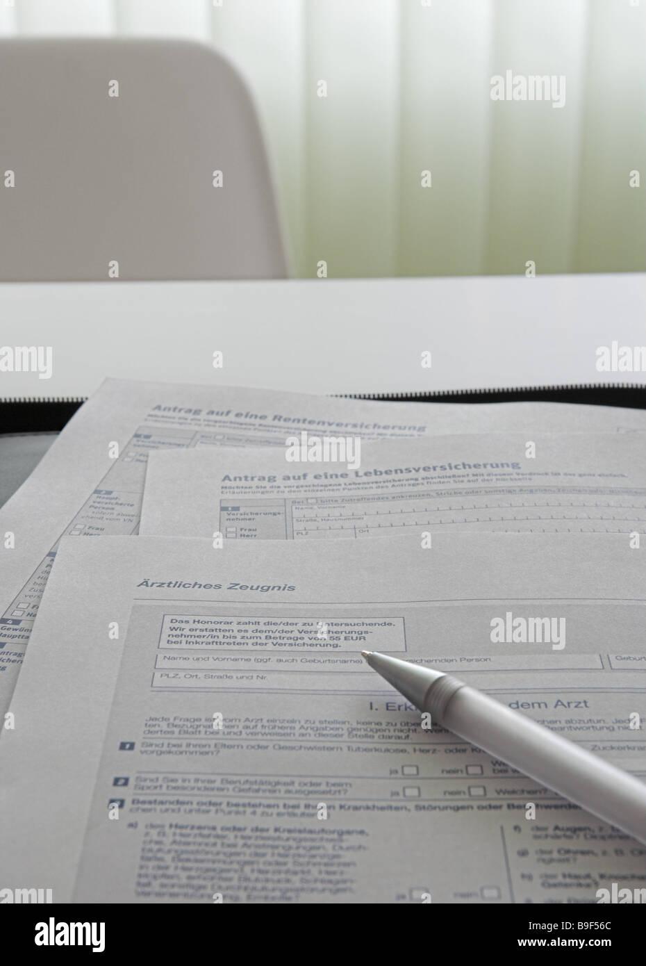 Medical Certificate Stockfotos & Medical Certificate Bilder - Alamy