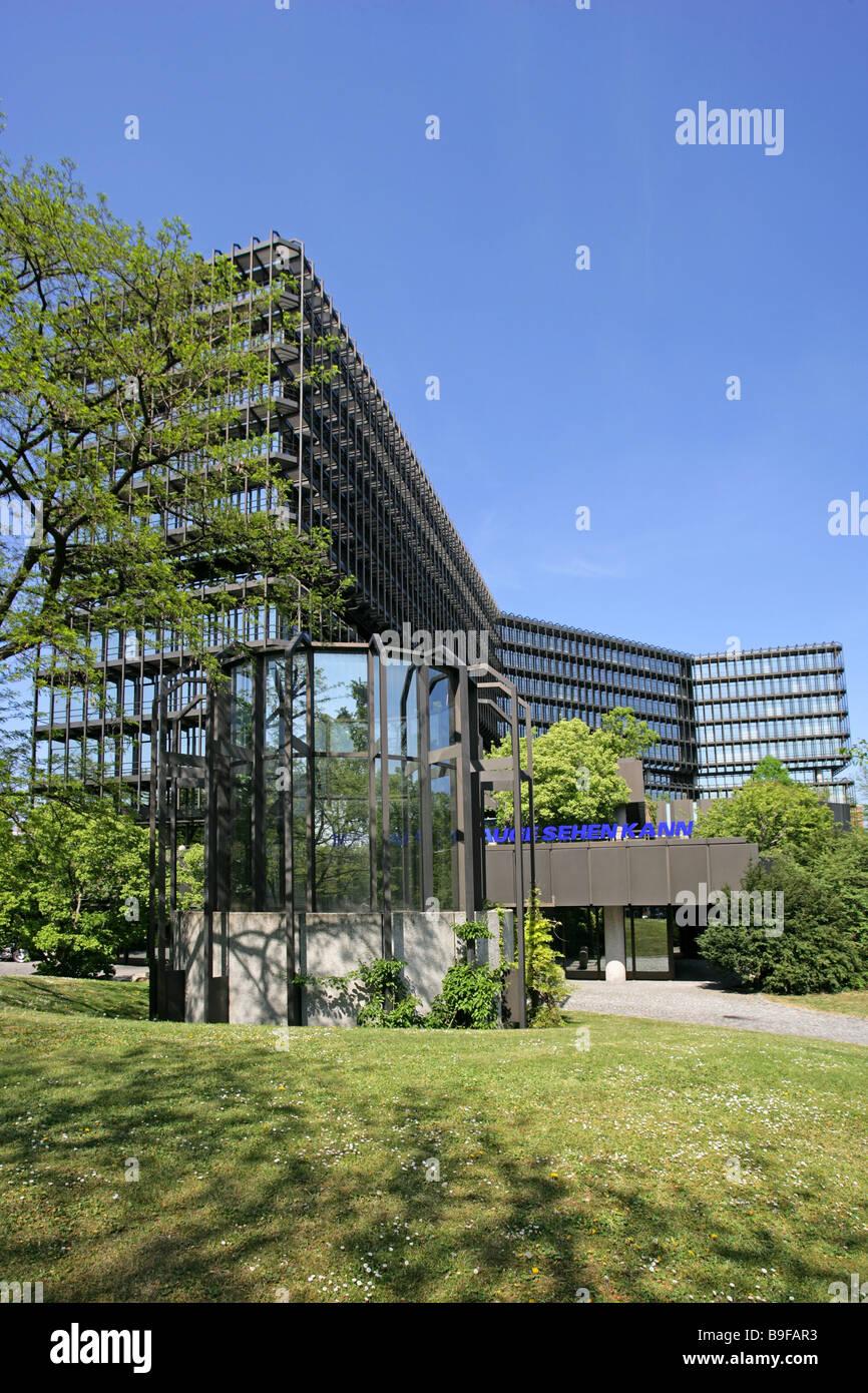 Deutschland Bayern München Europäischen Patentamt Bayern Behörde Bürogebäude des deutschen patent- und Marke-zusammen mit Stockfoto
