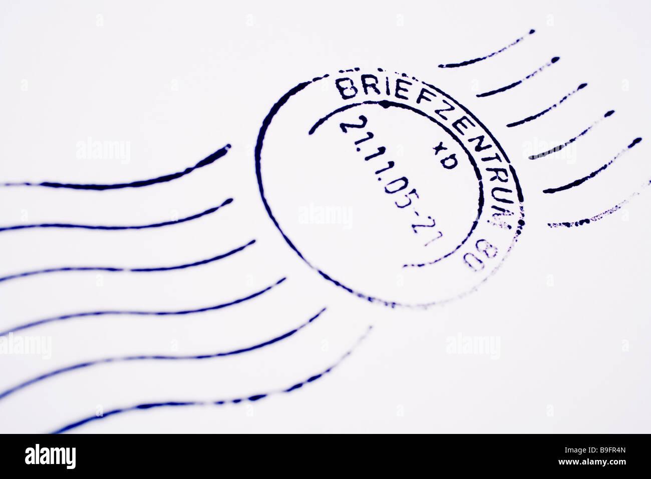 Poststempel Brief Brief Programm Programm Datum Post Briefmarken