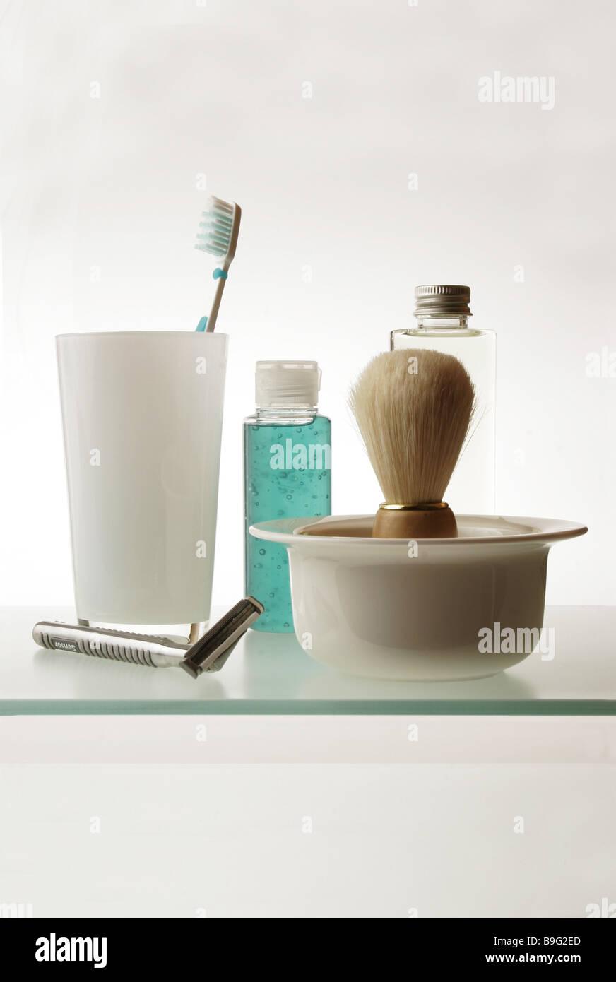Badezimmer Lagerung Platz Kosmetik-Artikel Rasieren-Artikel Tasse ...