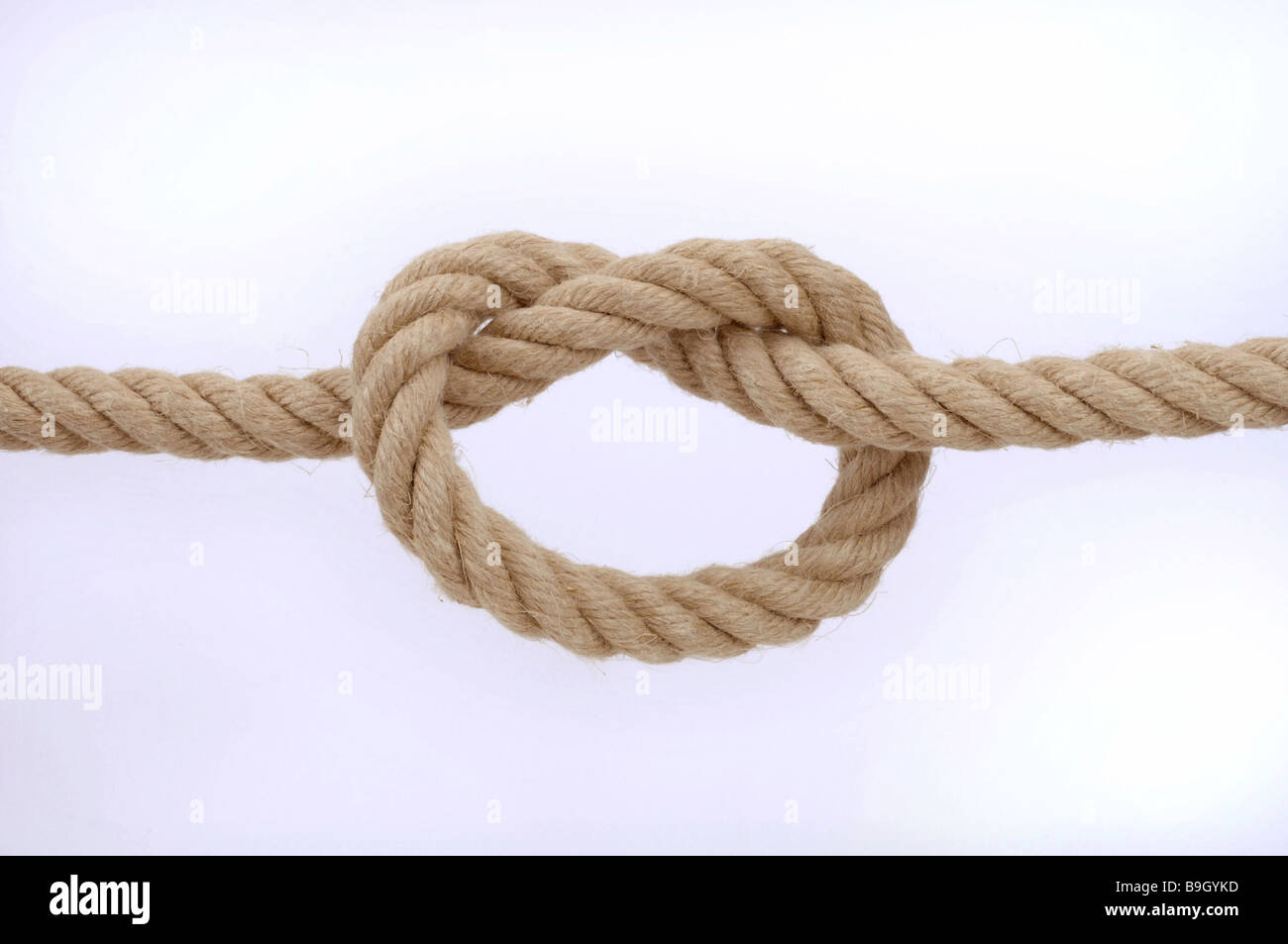 Tau Detail Knoten Seil Seil Knoten Hemdkragens Gurt festziehen ...