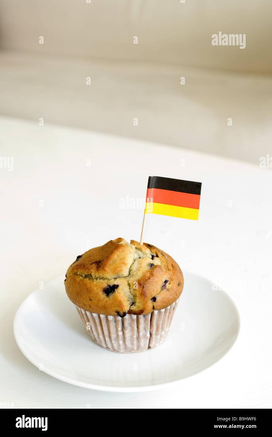 Muffin Platten Deutschland Flaggen Essen Sussigkeiten Kuchen Geback