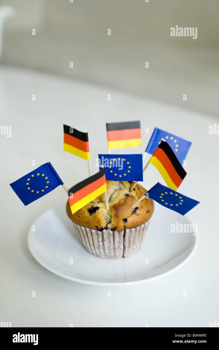 Muffin Platten Deutschland Flaggen Europa Flaggen Essen Sussigkeiten