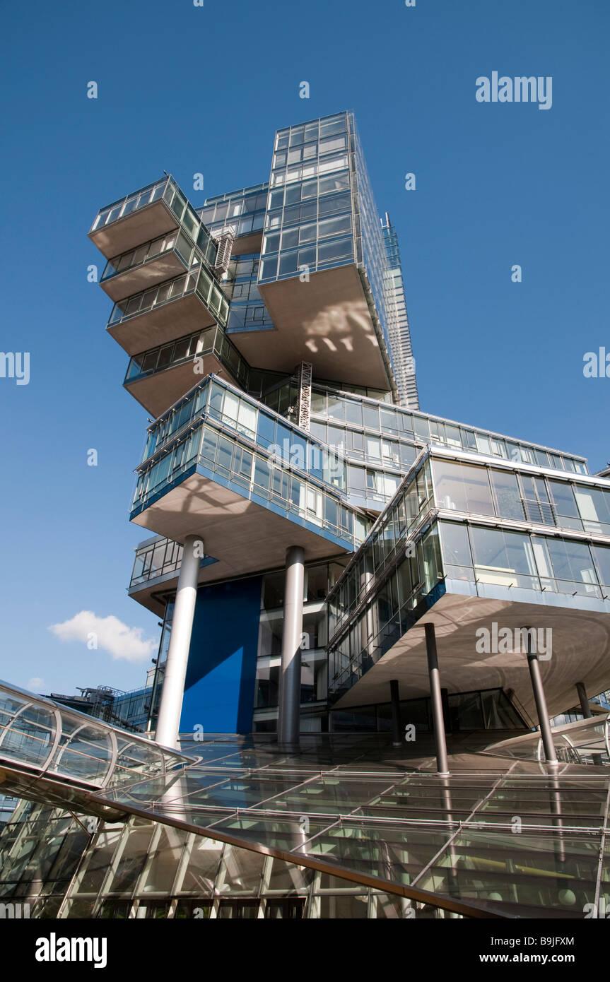 Modernes Verwaltungsgeb Ude der NORD LB Hannover Niedersachsen Deutschland Hannover modernes Gebäude der NORD Stockbild