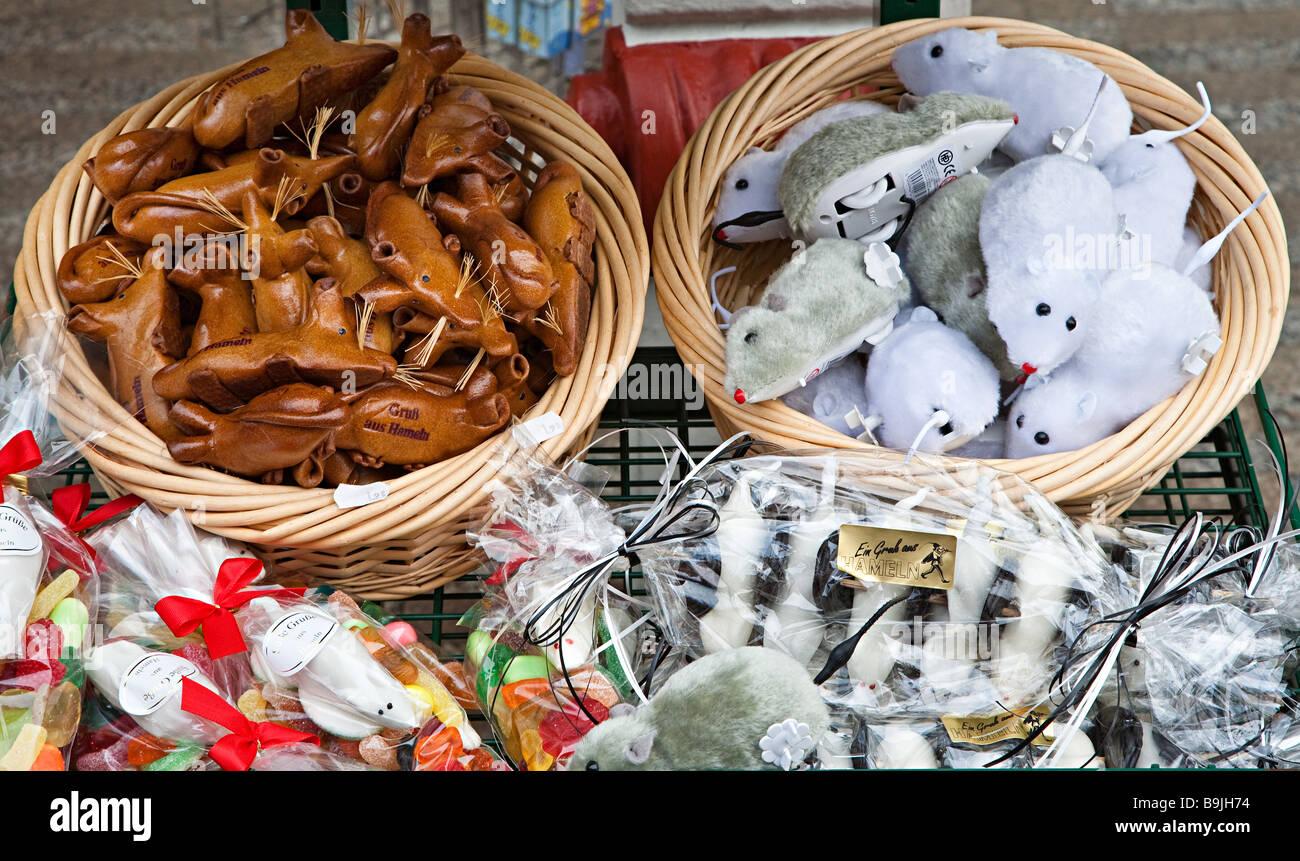 Spielzeug Ratten in Hameln Deutschland Stockbild