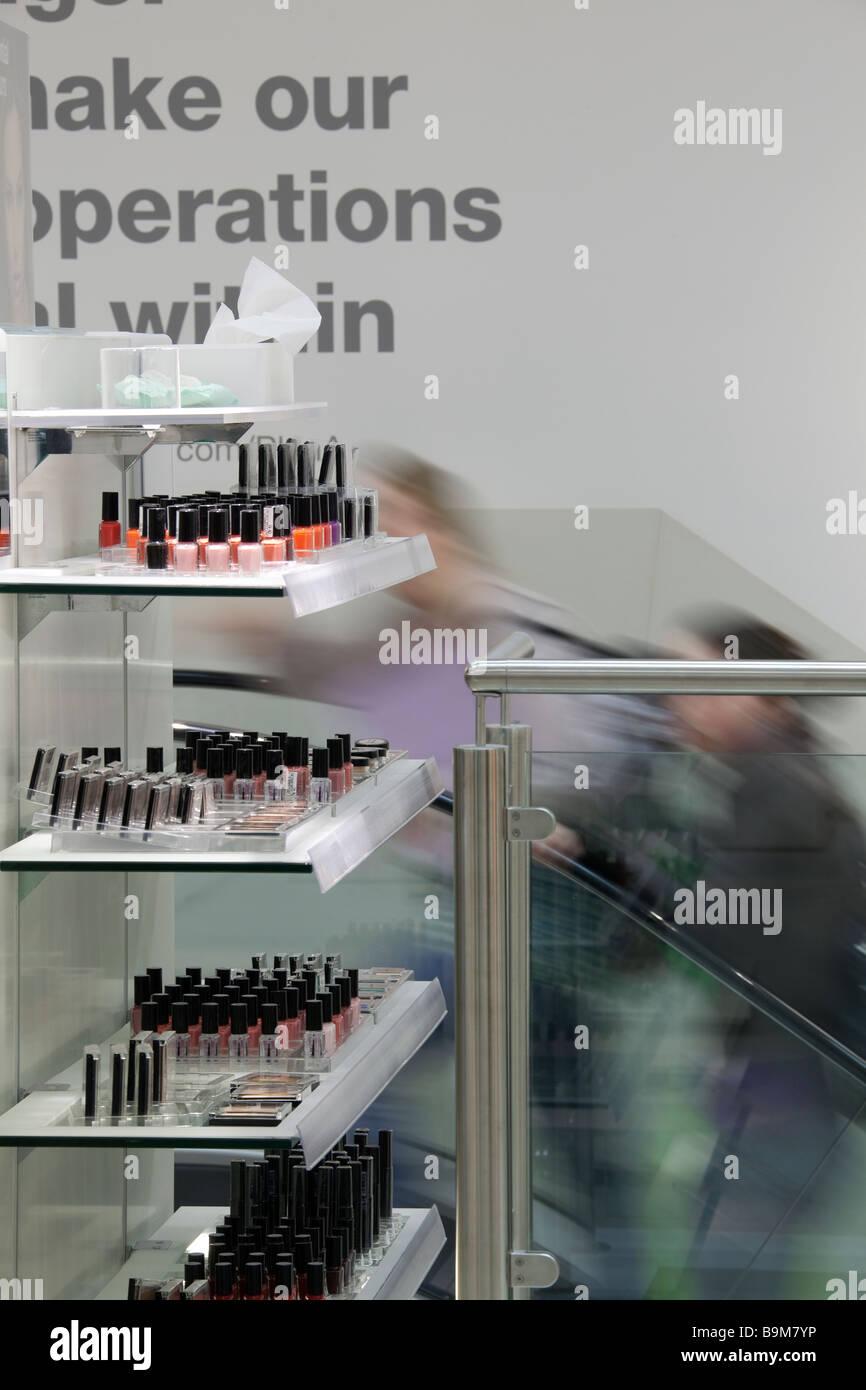 Kosmetik Einzelhandel shop Stockbild