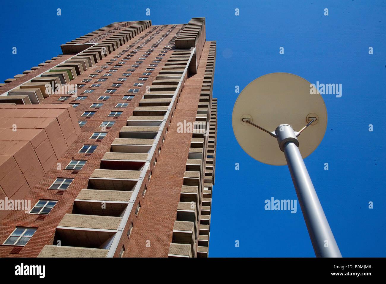 Vereinigte Staaten, New York City, Manhattan, Tribeca, Gebäude Stockbild