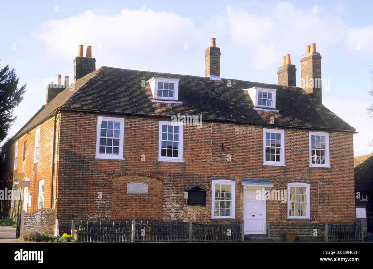 chawton hampshire jane austen austen haus englische. Black Bedroom Furniture Sets. Home Design Ideas