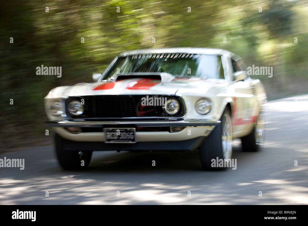1969 Ford Mustang Mach 1 Stockfoto Bild 23214765 Alamy